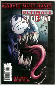 Marvel Must Haves Ultimate Spider-man Signed Thibert Venom Sketch Jay Company COA Ltd 25